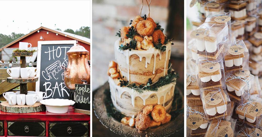 Fall Wedding Treat Inspiration