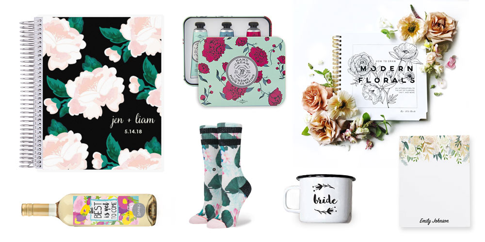 Gift Guide for the Flower-Loving Bride-to-Be