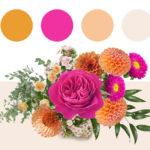 Summer Bouquet and Color Palette