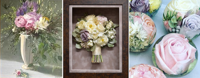 Ideas for How to Preserve Your Wedding Bouquet