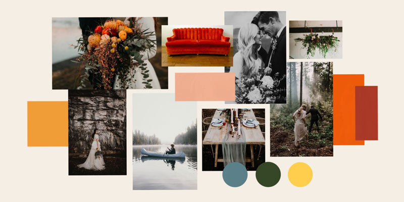 Elopement Giveaway Moodboard