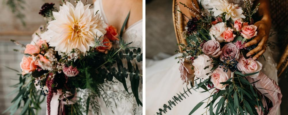 Styled Shoot Bridal Bouquet Details