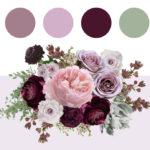 Plum and Mauve Color Palette Inspiration