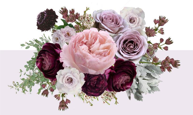 Plum, Mauve & Sage Floral Inspiration