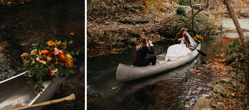 Canoe Flowers