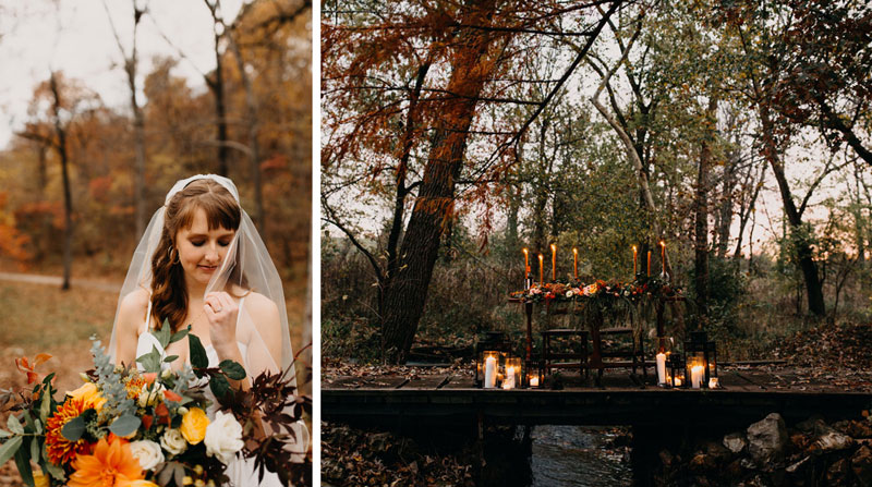 Fall elopement details