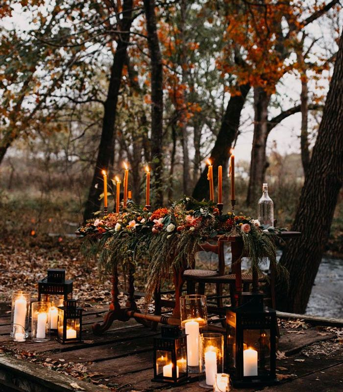 Outdoor Sweetheart Table