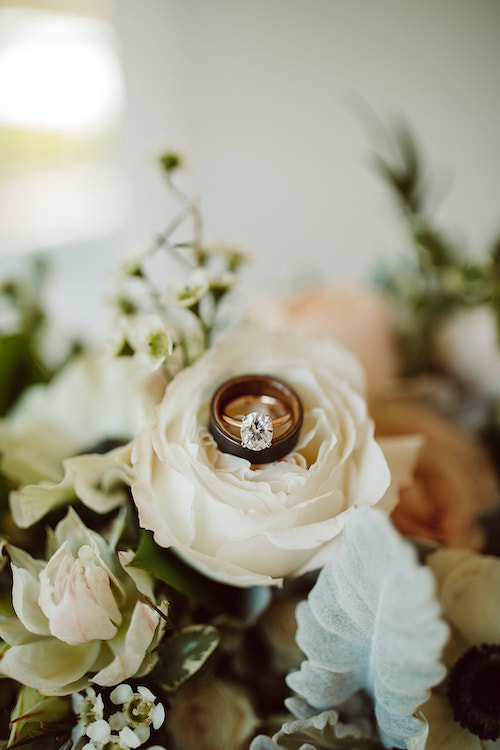 Ring and Floral detail