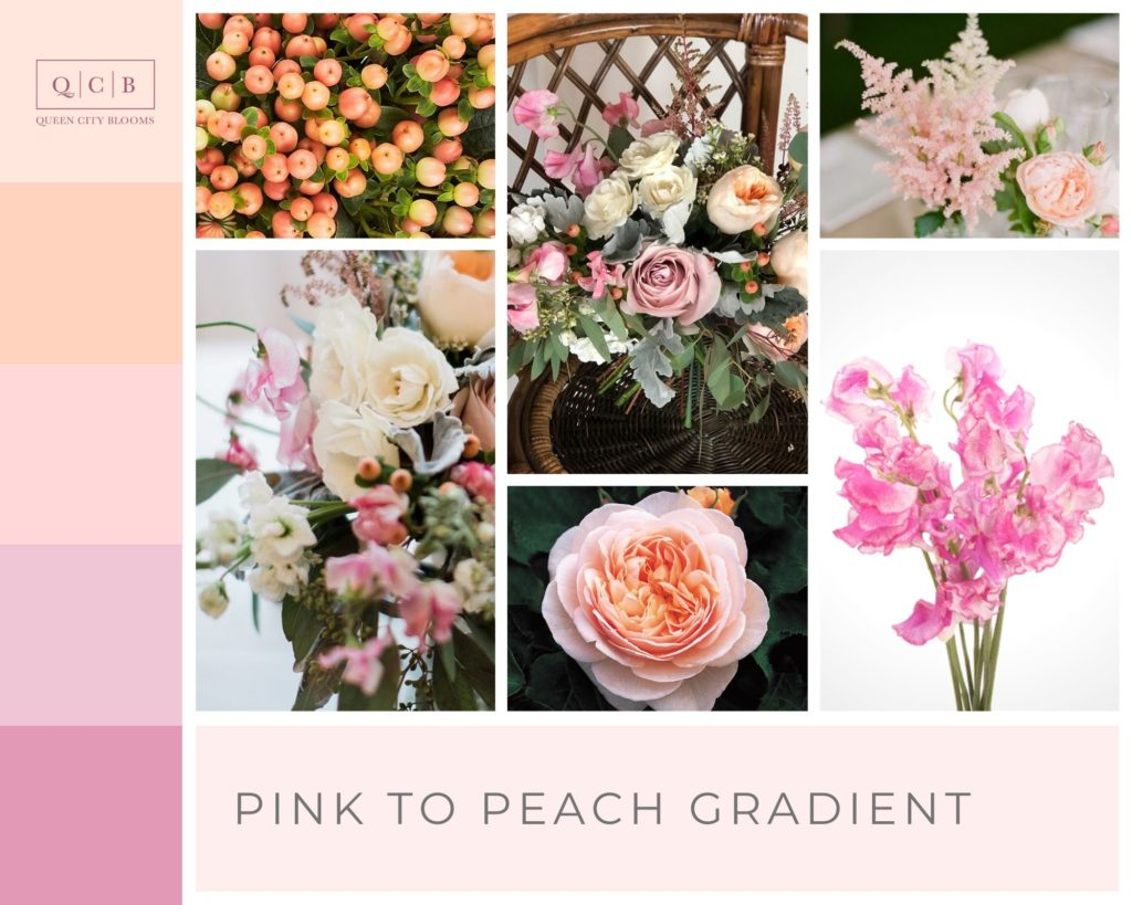 Pink and Peach - Spring Wedding Colors